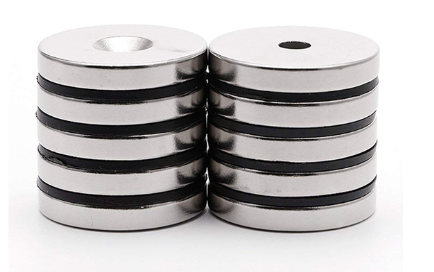 N52 Strong Disc Countersunk Neodymium Magnet