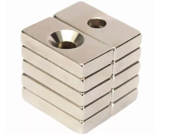 block countersunk neodymium magnets