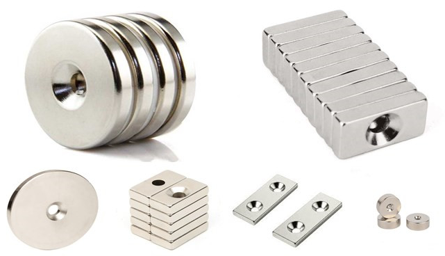 customized neodymium countersunk magnets