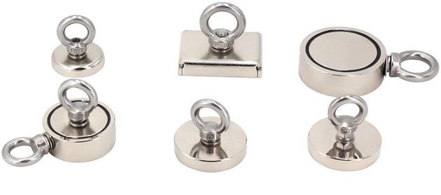 Strong Pulling Force Neodymium Fishing Magnets