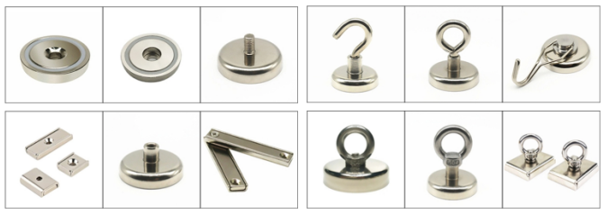 Strong Powerful Neodymium Heavy Duty Magnetic Hooks