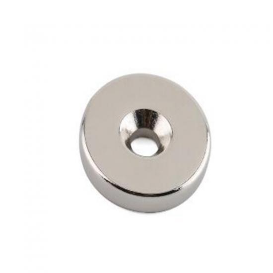 Permanent Neodymium Magnet with Countersunk