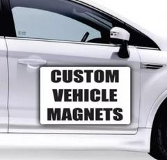 Removable Advertisements Magnetic Car Sign
