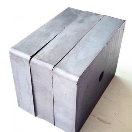 Block Ferrite Magnet with Hole