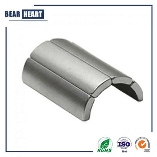 NdFeB arc segment magnets for generators