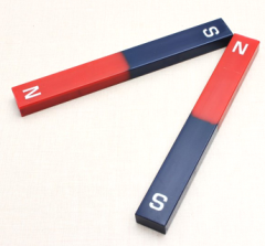 Permanent AlNiCo bar shape educational magnets