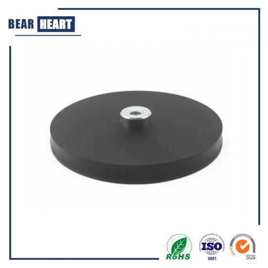 Rubber Coated Magnetic Base D43 M4