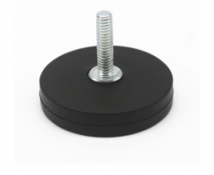 D31mm Rubber Coated Magnets with External Thread