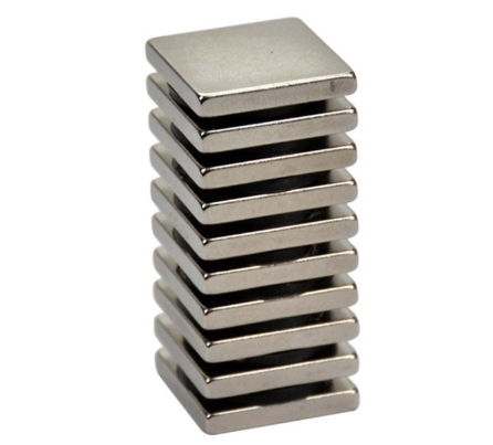 Strong Permanent Square Magnets