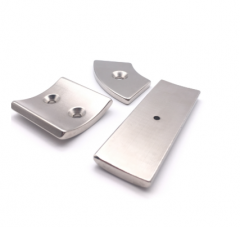 Neodymium Arc segment magnets with countersunk hole