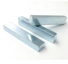 Neodymium Bar Magnets with Zn coating