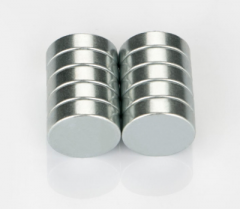 Zinc Plated Small Disc Neodymium Magnet