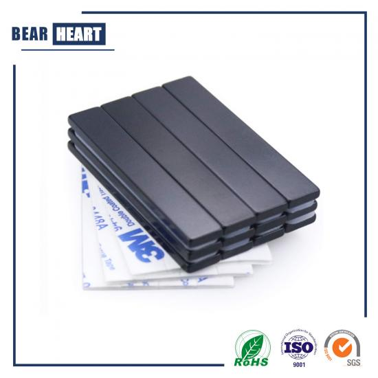 Permanent Rare Earth Magnets with Adhesive