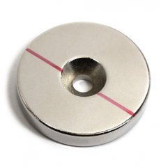 Strong Countersunk Disc Neodymium Magnets