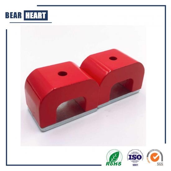 Red Alnico Horseshoe Magnet