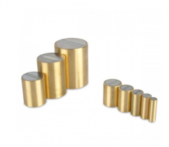 SmCo-Rod pot magnets with brass body
