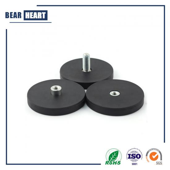 Female Thread Neodymium Pot Magnet
